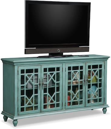 Grenoble Media Stand - Teal