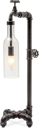 Pipe Bottle Table Lamp