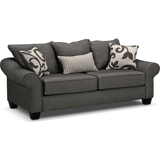 Colette Full Innerspring Sleeper Sofa - Gray