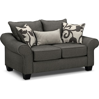 Colette Loveseat - Gray