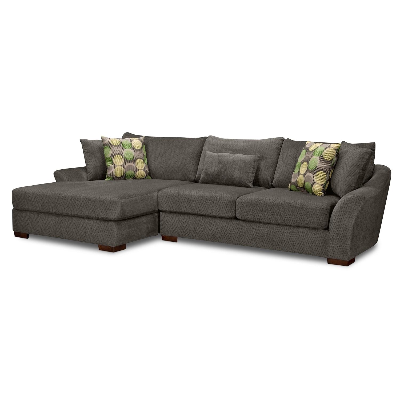 Beautiful American Signature Furniture Sectionals #8: Oasis 2 Pc Sectional American Signature Furniture