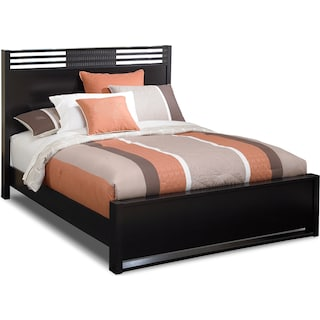 Bally Queen Bed - Black