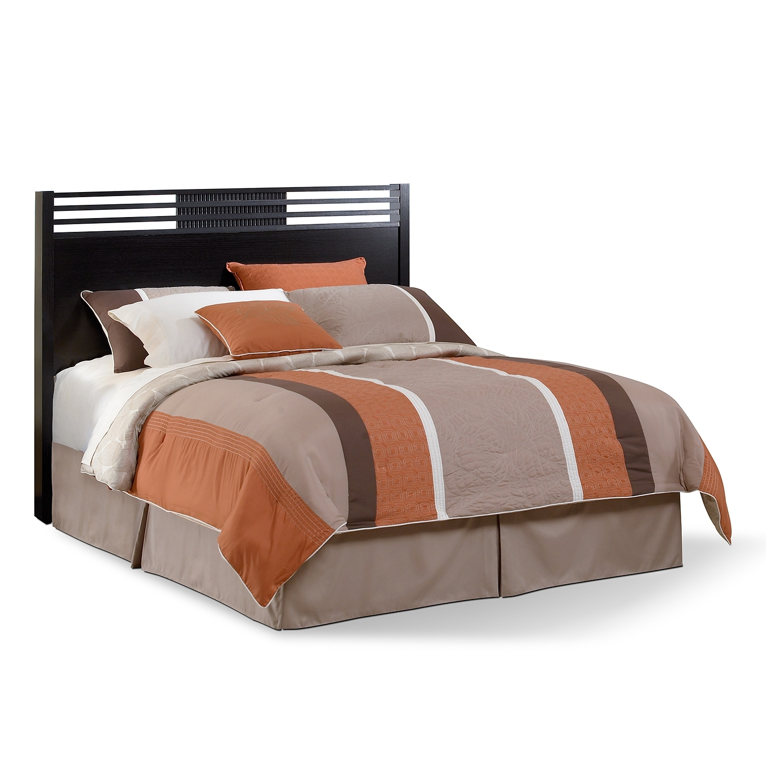 Bedroom Furniture - Bally Espresso Queen Headboard