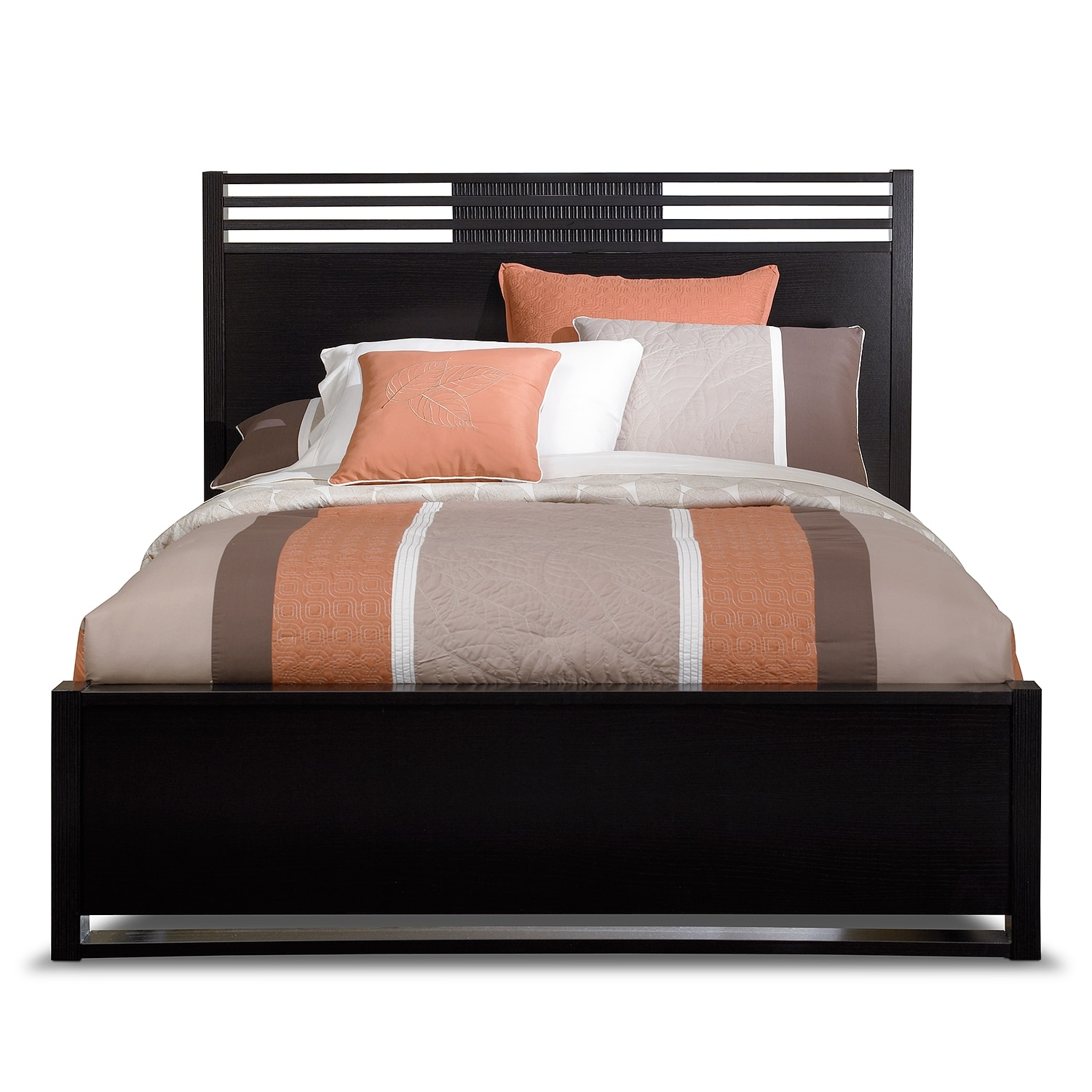 Black queen beds weston queen storage bed cavallino for American signature furniture locations pa