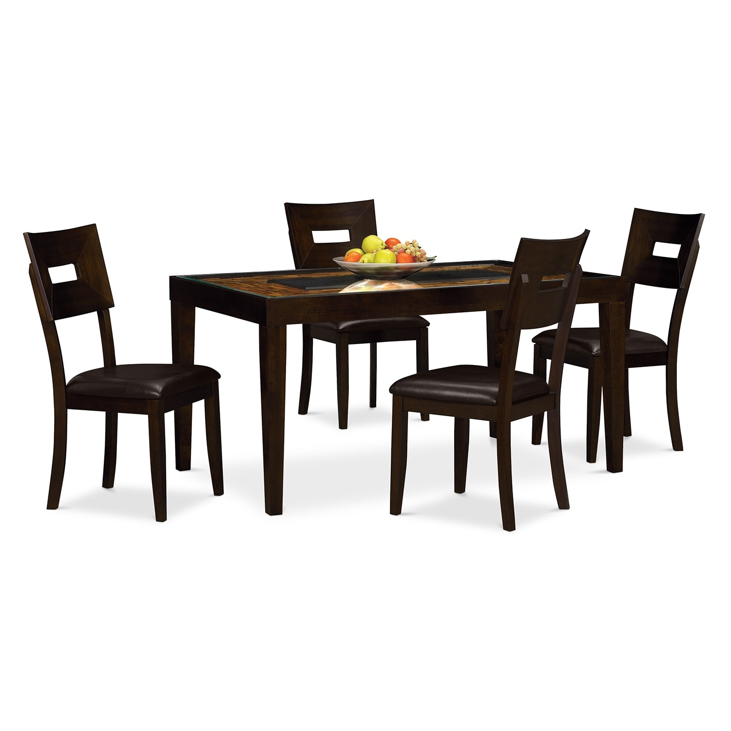 [Cyprus 5 Pc. Dinette]