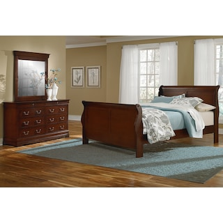 Neo Classic Youth 5-Piece Twin Bedroom Set - Cherry