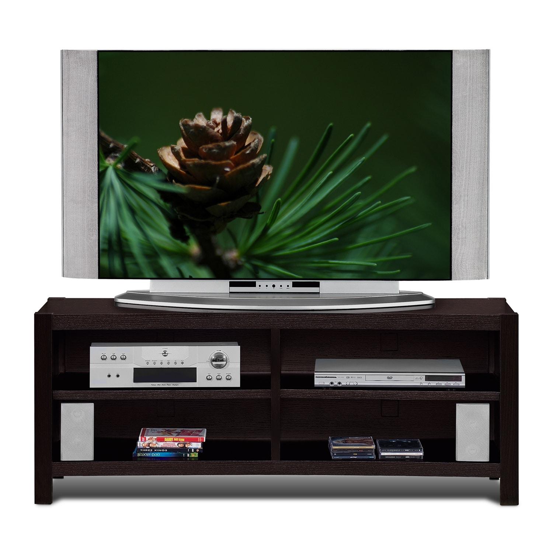 Entertainment Furniture - Townsend TV Stand - Merlot