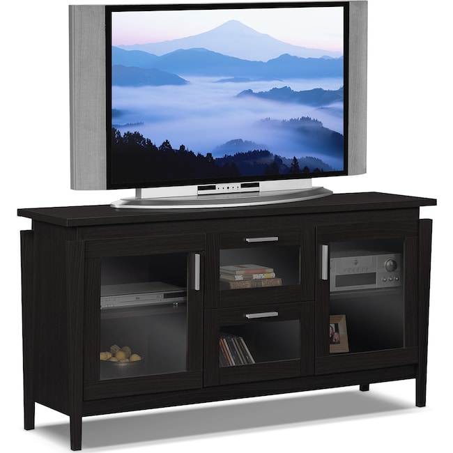 "Entertainment Furniture - Saber 60"" TV Stand - Merlot"