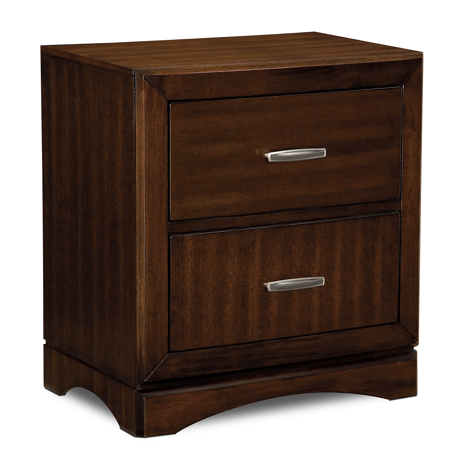 Bedroom Furniture - Toronto Nightstand - Pecan