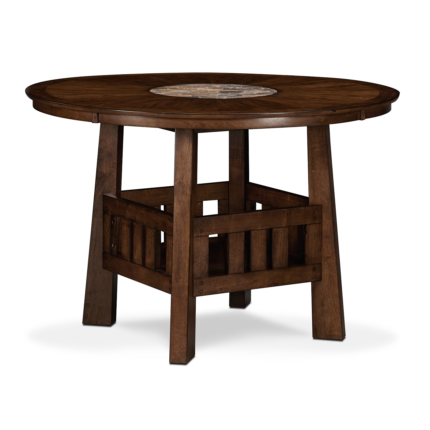 Harbor Pointe Counter-Height Table - Oak