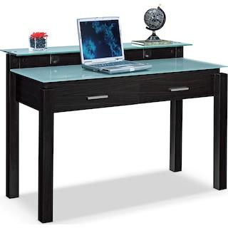 Crescent Desk - Merlot