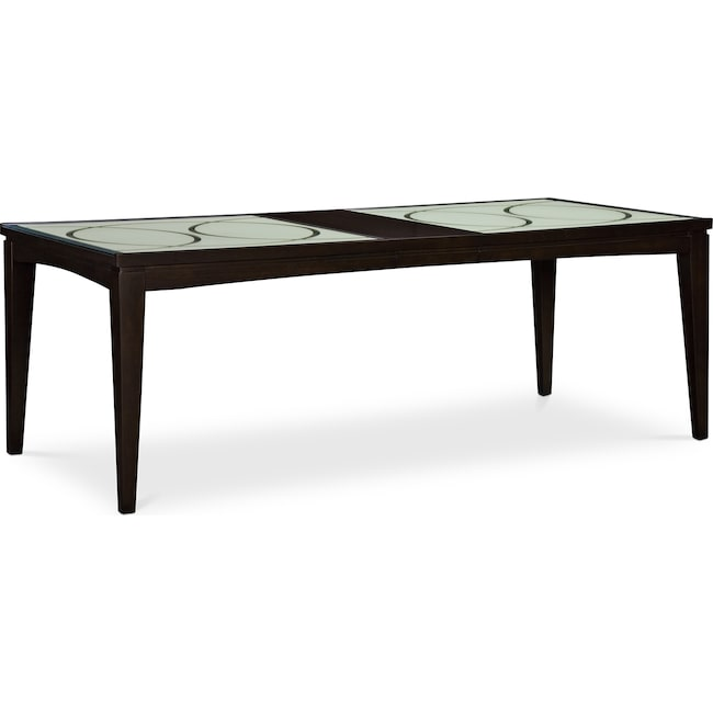 Dining Room Furniture - Cosmo Dining Table - Merlot