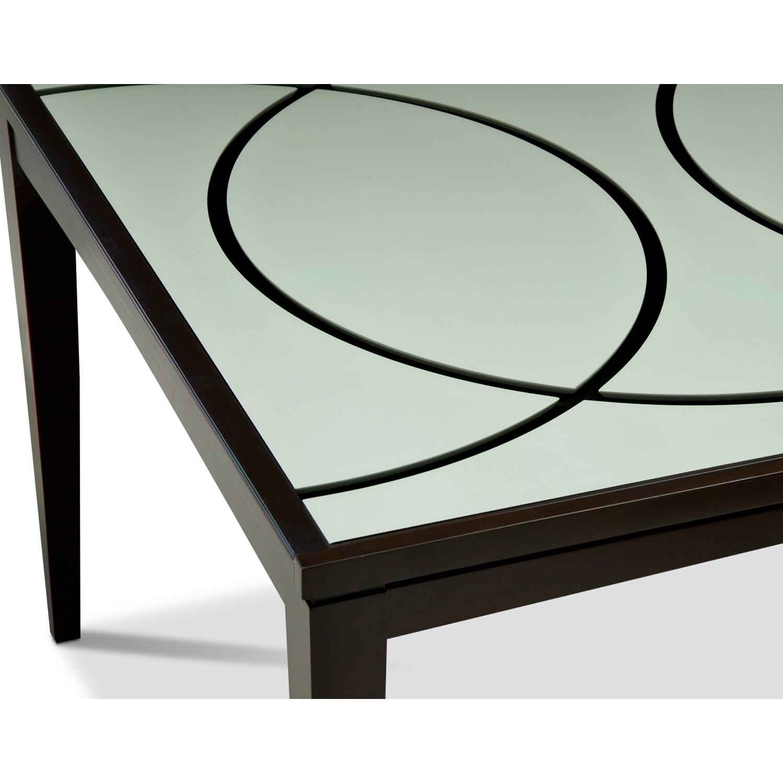 Cosmo Dining Table Merlot American Signature Furniture