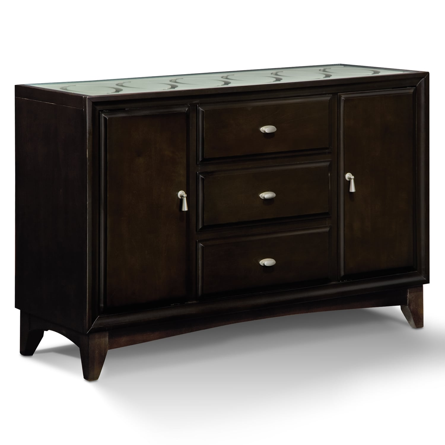 Dining Room Furniture - Cosmo Sideboard - Merlot
