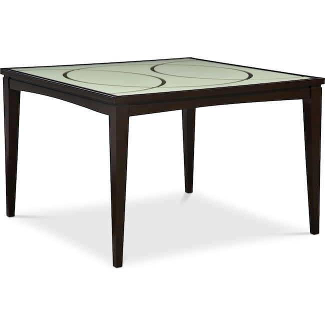 Dining Room Furniture - Cosmo Counter-Height Dining Table - Merlot