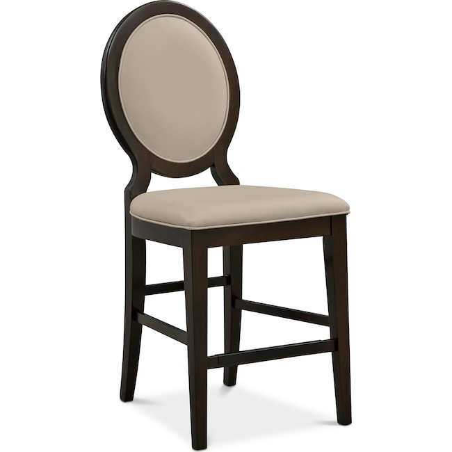 Dining Room Furniture - Cosmo Counter-Height Stool - Merlot