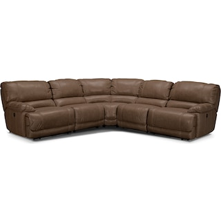 St. Malo 5-Piece Right-Facing Power Reclining Sectional - Taupe