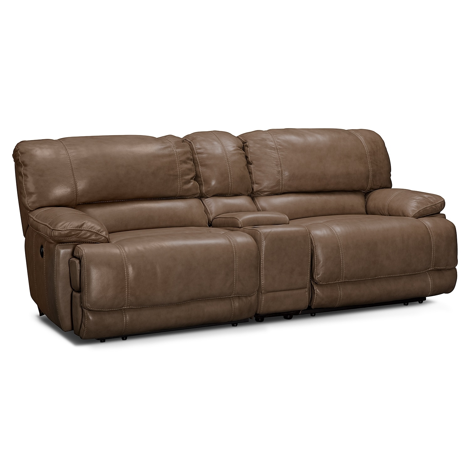 St. Malo II 3 Pc. Power Reclining Sofa with Console