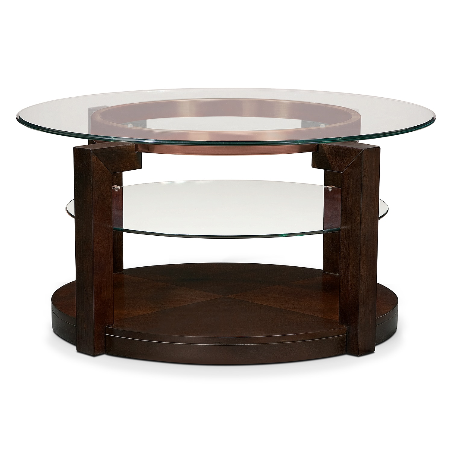 Auburn Cocktail Table Merlot American Signature Furniture