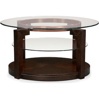 Auburn Coffee Table - Merlot