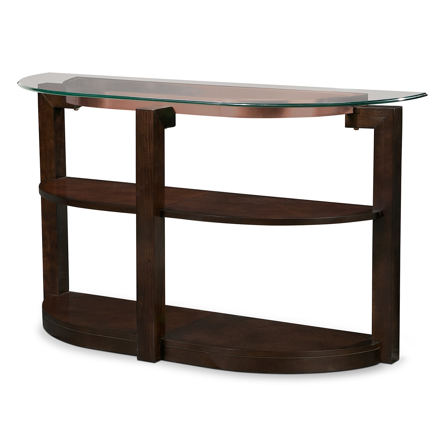 Auburn Sofa Table - Merlot