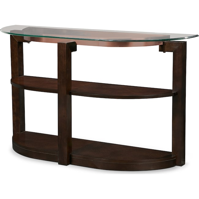 Accent and Occasional Furniture - Auburn Sofa Table - Merlot