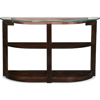 Auburn Sofa Table - Merlot