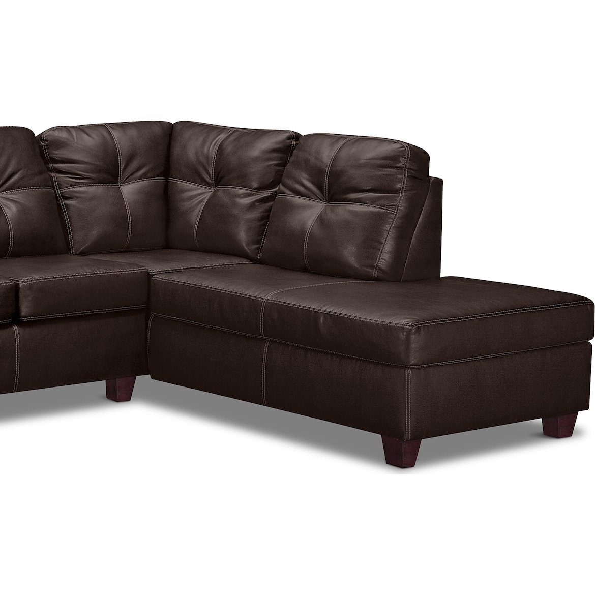 Ricardo 2 Piece Queen Sleeper Sectional With Chaise
