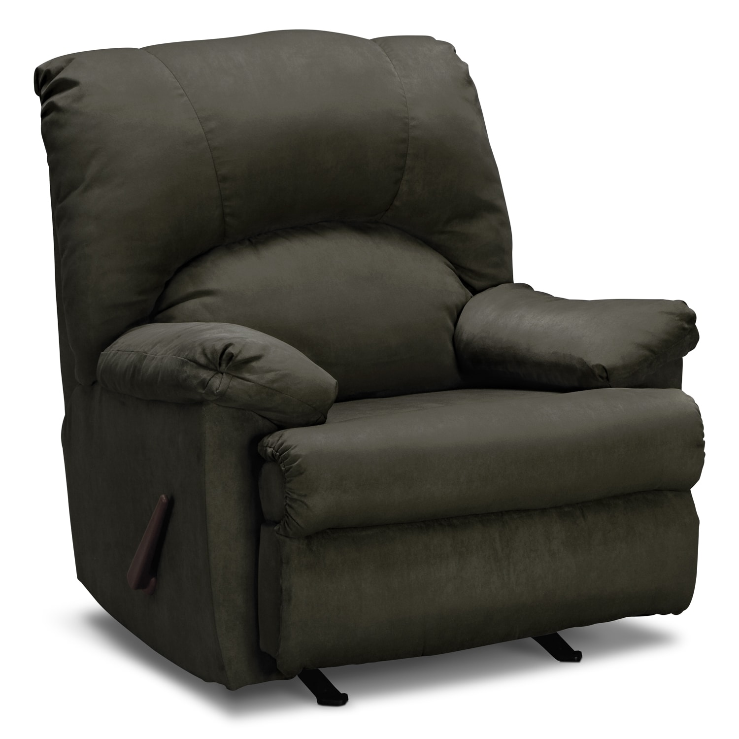 Living Room Furniture - Quincy Rocker Recliner - Loden
