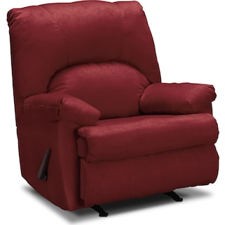 Quincy Rocker Recliner - Garnet