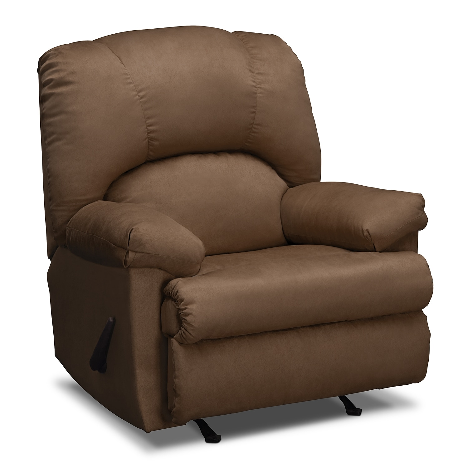 American Signature Furniture Com: Quincy Rocker Recliner - Latte