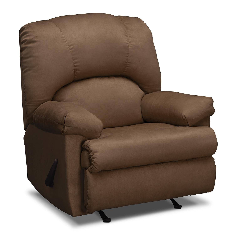 Living Room Furniture - Quincy Rocker Recliner