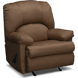 Quincy Rocker Recliner - Latte