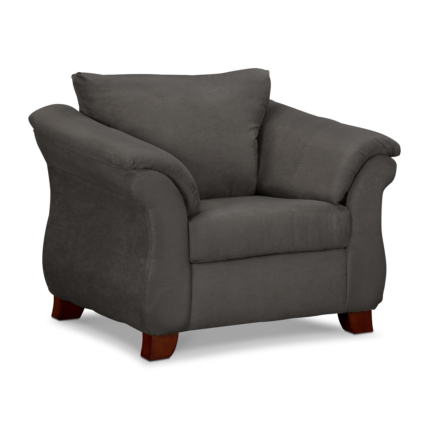 Living Room Furniture - Adrian Graphite Chair