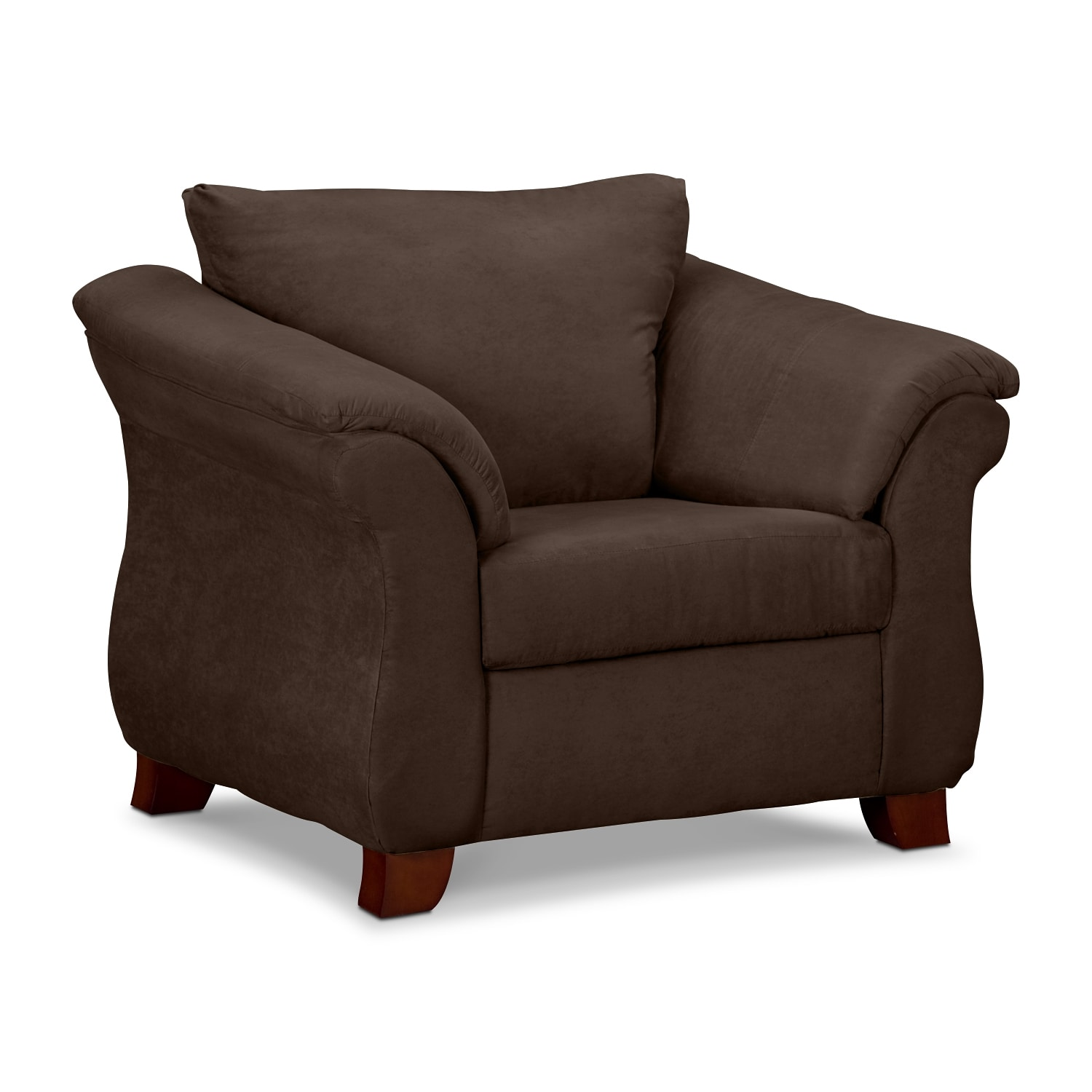 Living Room Furniture - Adrian Chocolate Chair