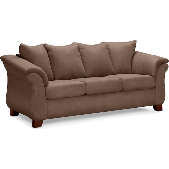 Living Room Furniture - Adrian Sofa - Taupe