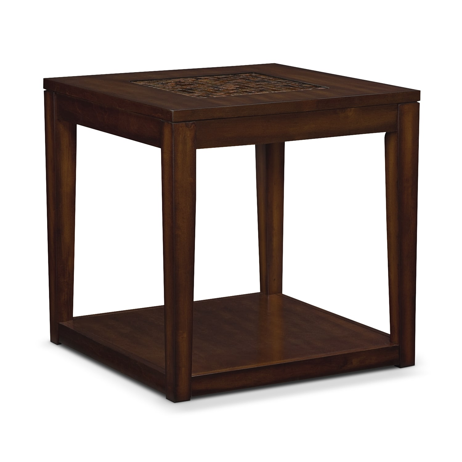 Accent and Occasional Furniture - Carson End Table - Brown