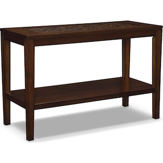 Carson Sofa Table - Brown