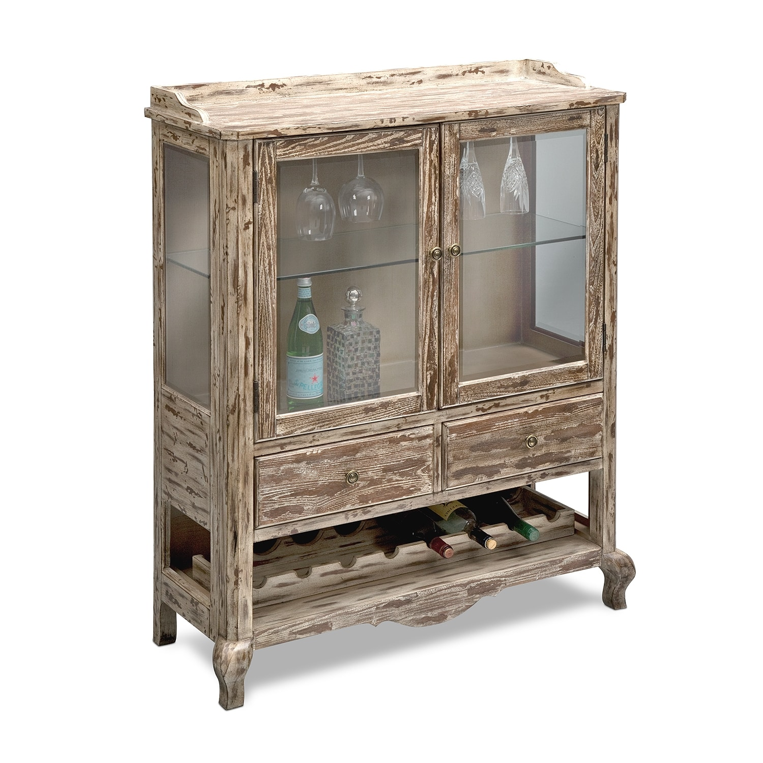 Accent and Occasional Furniture - Hathaway Wine Cabinet