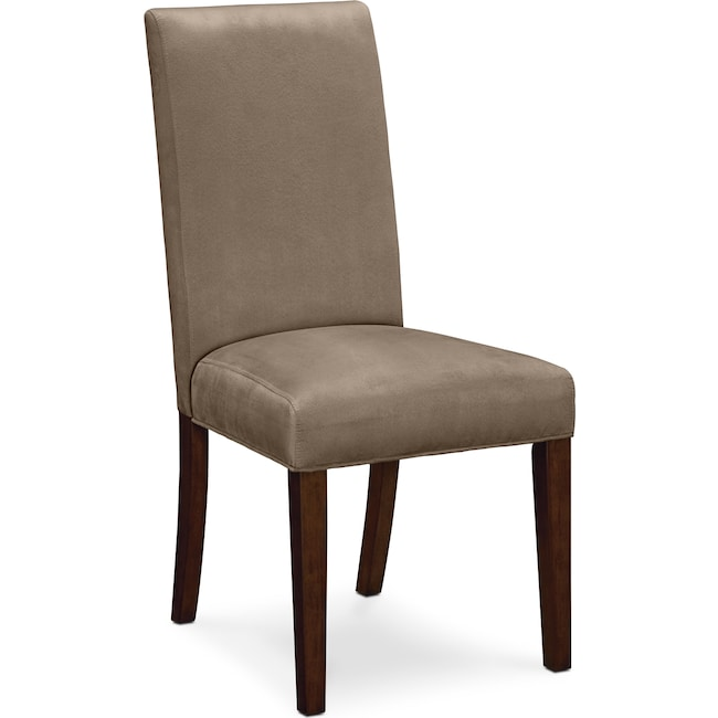 Dining Room Furniture - Alcove Side Chair - Beige