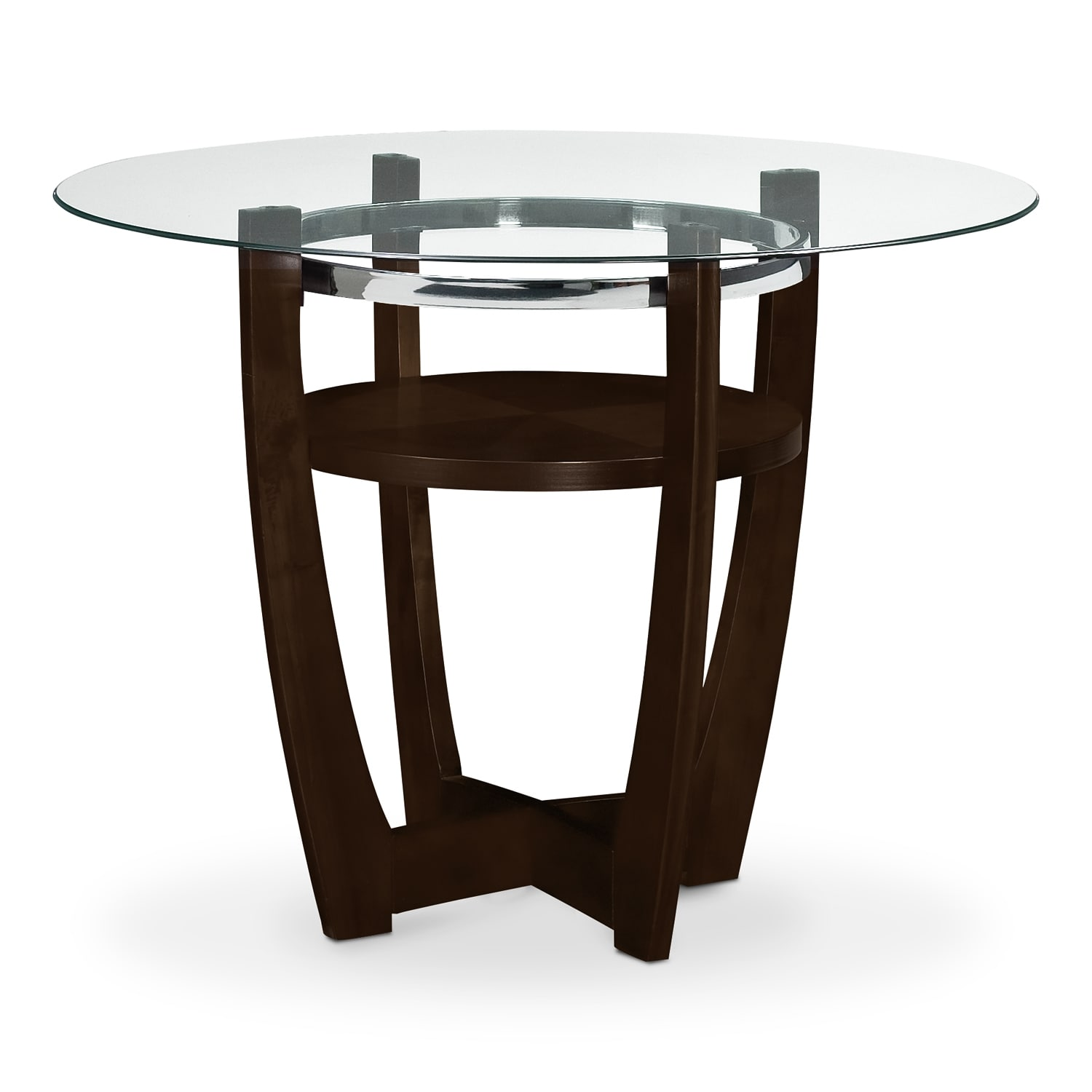 Alcove Counter-Height Table - Merlot