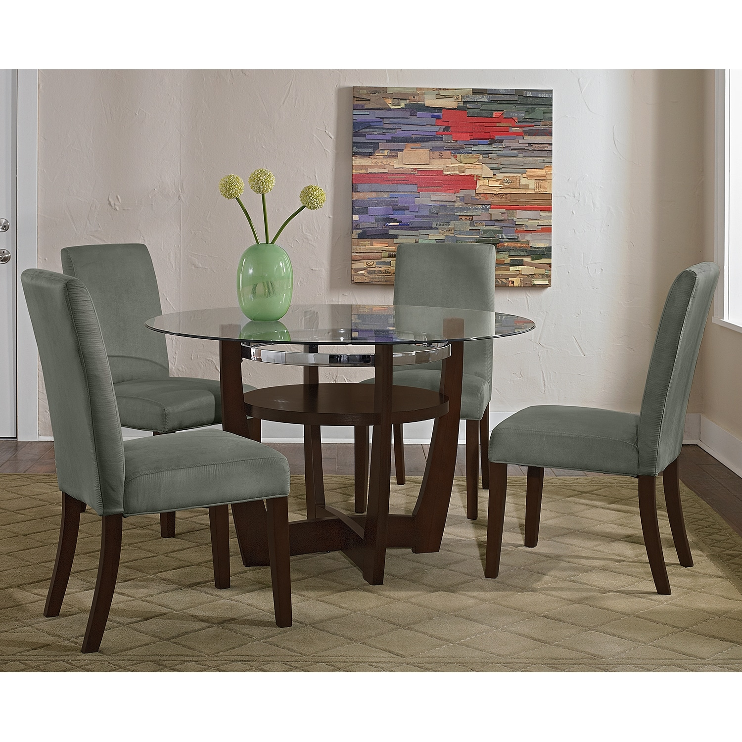Alcove Side Chair - Sage | American Signature Furniture