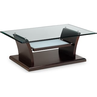 Bell Aer Tail Table Merlot