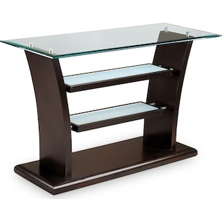 Bell Aer Sofa Table - Merlot