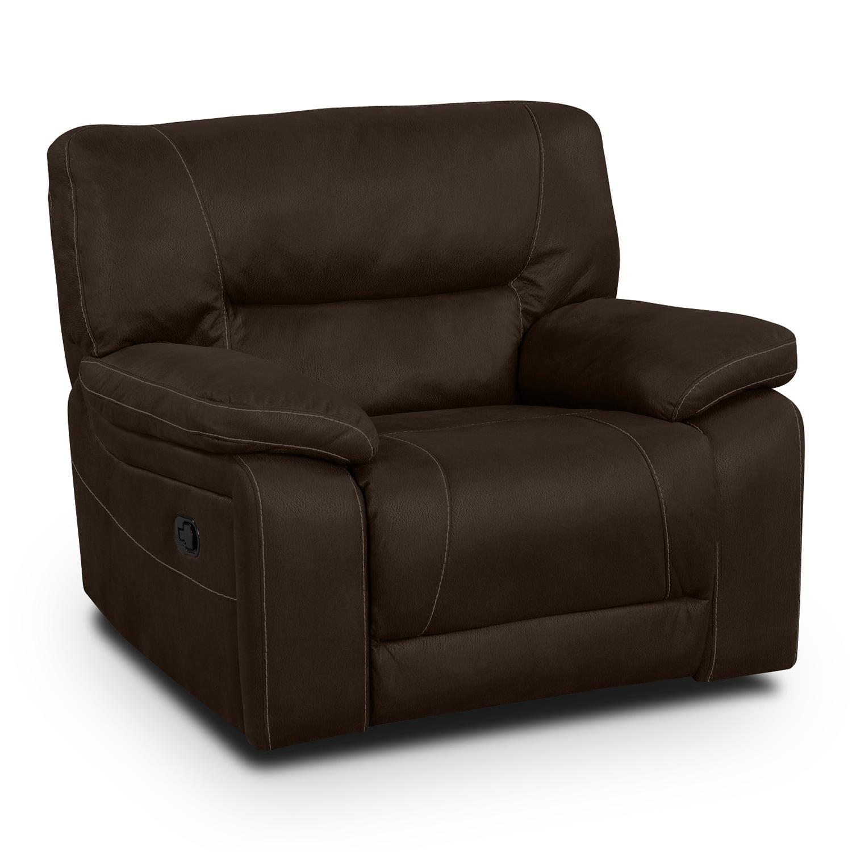 Living Room Furniture - Wyoming Saddle Glider Recliner
