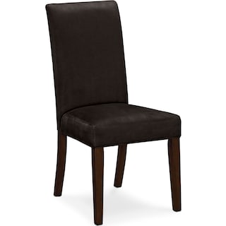 Alcove Side Chair - Chocolate