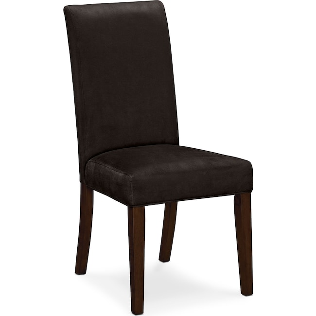Dining Room Furniture - Alcove Side Chair - Chocolate
