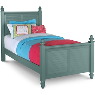 Seaside Twin Bed - Blue