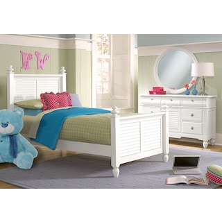 Seaside 5 Piece Twin Bedroom Set