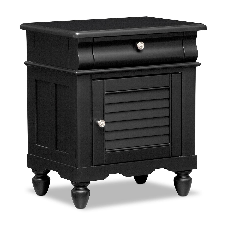 Kids Furniture - Seaside Nightstand - Black